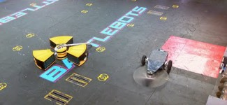 Tombstone vs. Radioactive – BattleBots